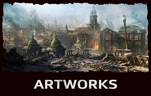 Artworks del gioco